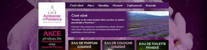 Ambiente de Provence - čisté vůně z Provence
