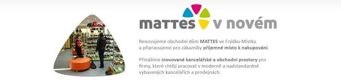 Renovujeme obchodní dům MATTES ve Frýdku-Místku - MATTES v novém!