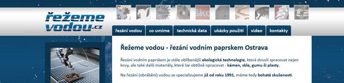 Řezání vodním paprskem Ostrava je ekologická technologie opracování materiálů